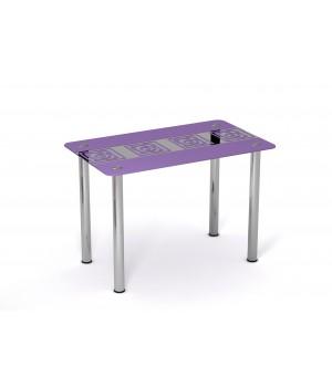 Стеклянный стол Виолетта