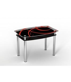 Стеклянный стол Авангард