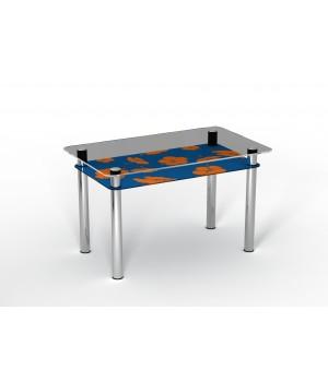 Стеклянный стол Позитив