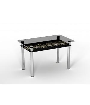 Стеклянный стол Ампир