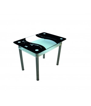 Стеклянный стол Контраст