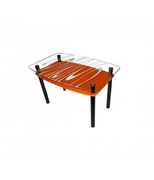 Стеклянный стол Родео